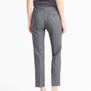 NWT J. Crew Gray Size 2 Paley Suit Pant
